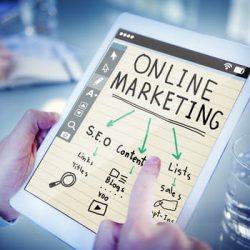 SEO Manchester diagram on online marketing